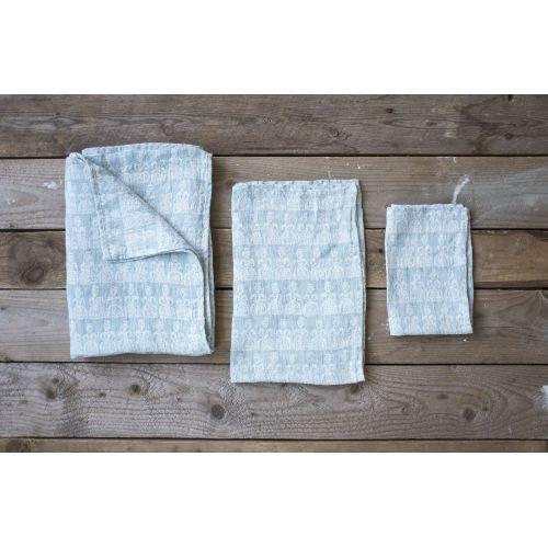 Lněný ručník Tant Blue 67x67 cm