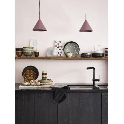 Keramický talíř Kyoto Black