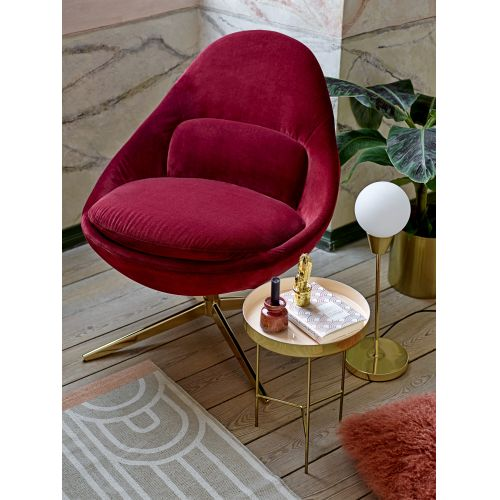 Hliníkový odkládací stolek Rose