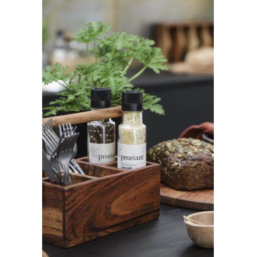Dřevěný pořadač do kuchyně Proviant Acacia