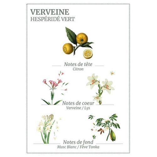 Tělové mléko Panier des Sens - Verbena 250ml