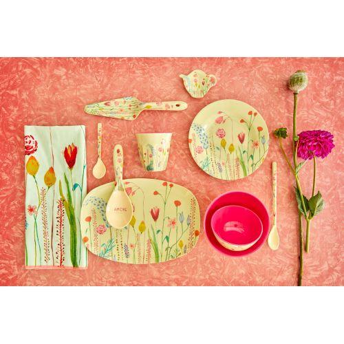 Melaminový talíř Summer Flowers