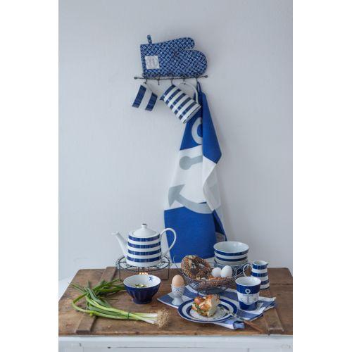 Čajová konvice Blue Stripes