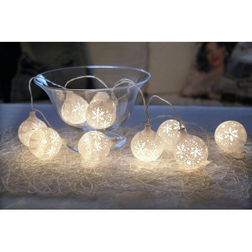 Světelný LED řetěz Flakey