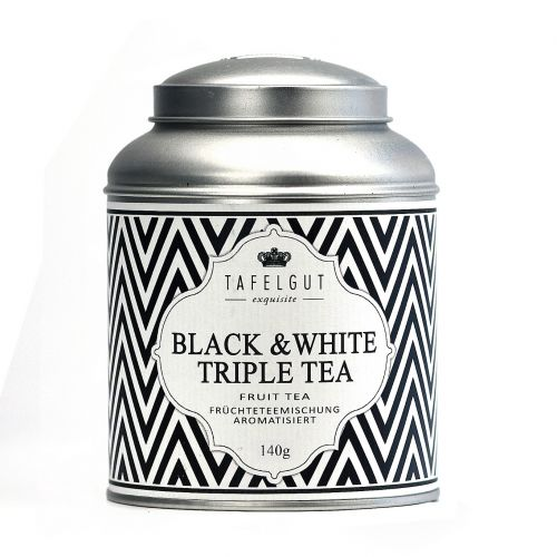 Ovocný čaj Black and white triple tea - 140gr