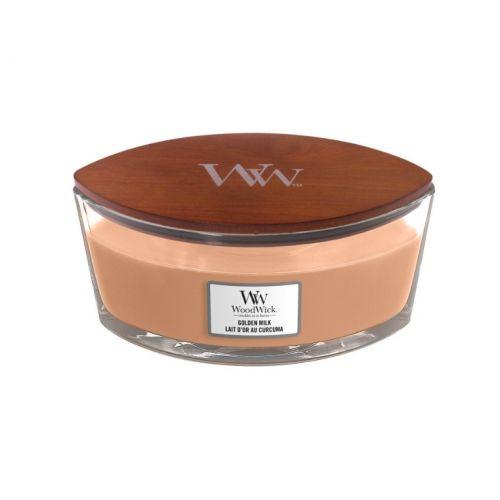 Vonná svíčka WoodWick - Golden Milk 454g