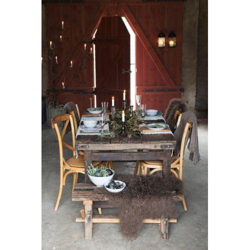 Dřevěná židle Provence brown