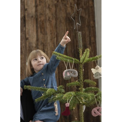 Vánoční textilní ozdoba Nostalgic Pretzel