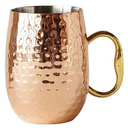 Kovový hrnek Copper Mug 450 ml