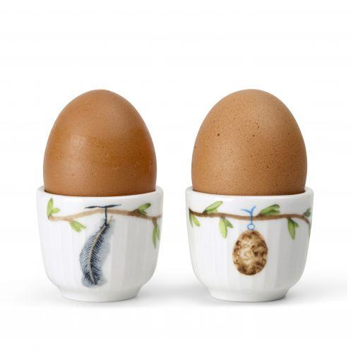 Stojánek na vajíčko Hammershøi Spring - set 2 ks