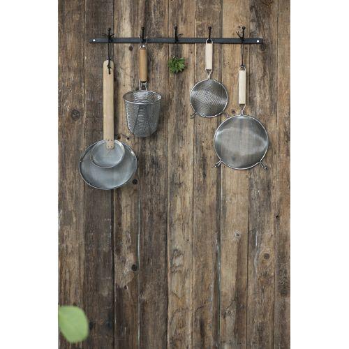 Kuchyňské sítko s bambusovou rukojetí