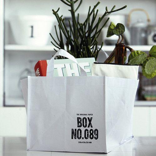 Dekorativní taška white BOX NO.028