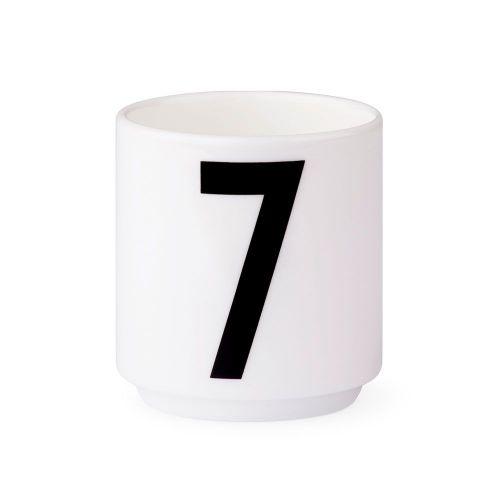 Espresso hrneček Letters Nr.7