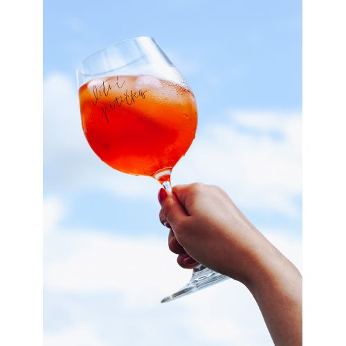 Sklenice na drink Letní pitíčko