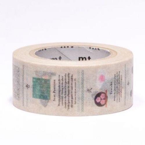 Designová samolepicí páska Tea Ceremony