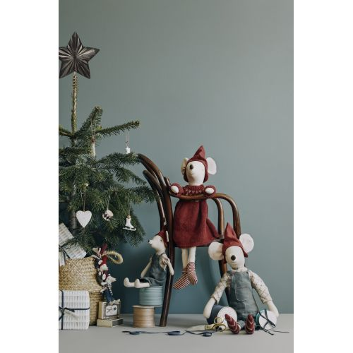 Závěsná vánoční ozdoba Heart Creme