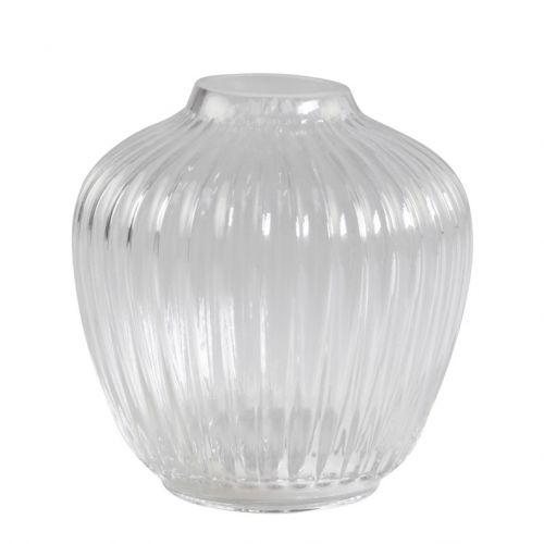 Skleněná váza Creases Shape
