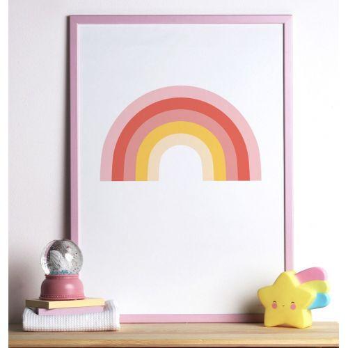Dětský plakát Rainbow
