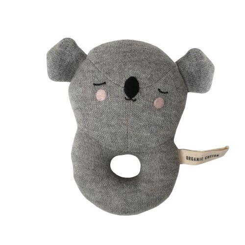 Dětské pletené chrastítko Koala