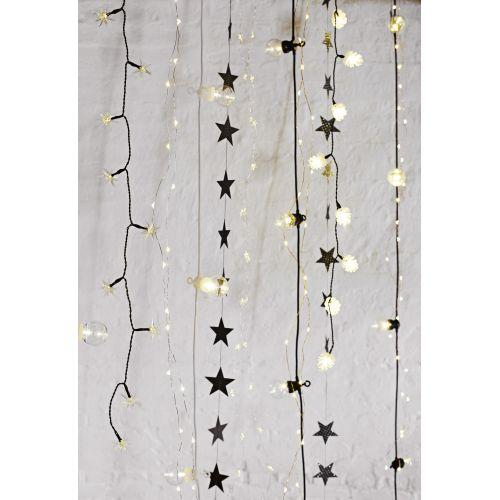 Světelný LED drátek Stars