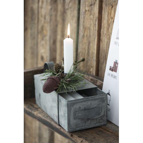 Vánoční baňka Acorn Bordeaux