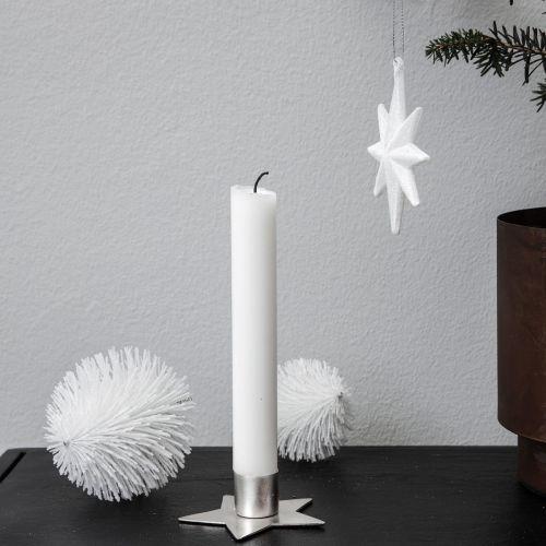 Svícen Silver Star ⌀ 6 cm