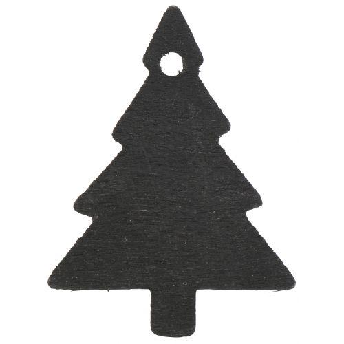Dekorativní stromeček - černý