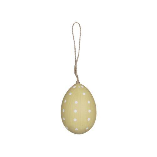 Závěsné plastové vejce Melon Dots
