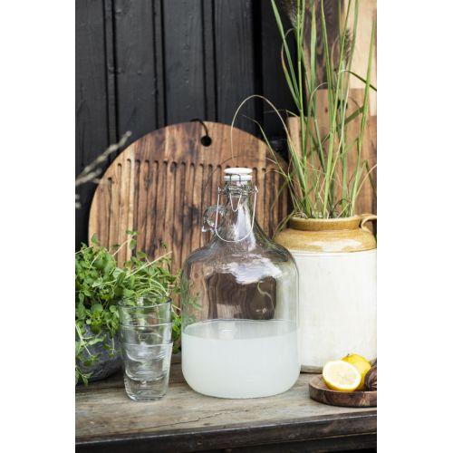 Skleněná lahev s těsnícím víčkem 4,6L