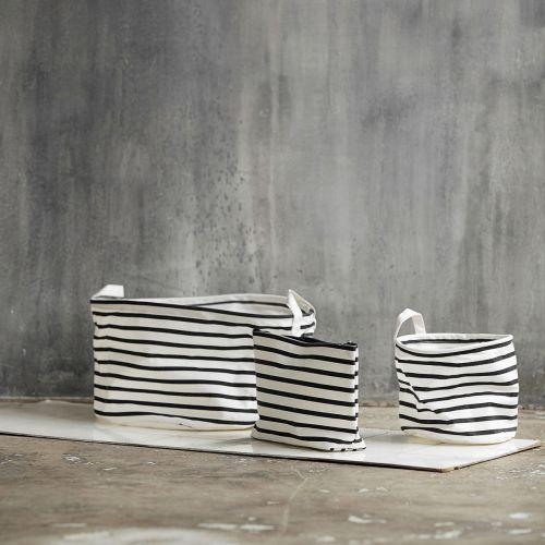 Textilní košík Stripes 20 cm
