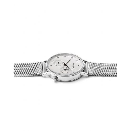 Unisex hodinky Komono Walther Silver Mesh