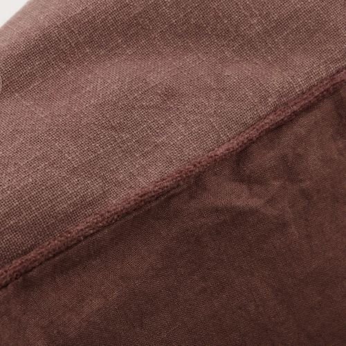 Povlak na polštář Sai Red Brown 50x50cm