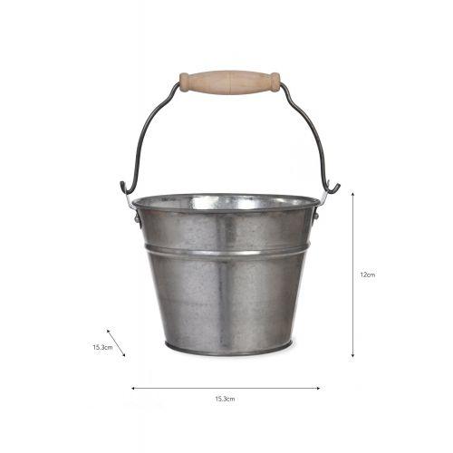 Plechový kyblík Steel 1,25l