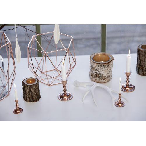 Drátěná mísy Geometry Copper