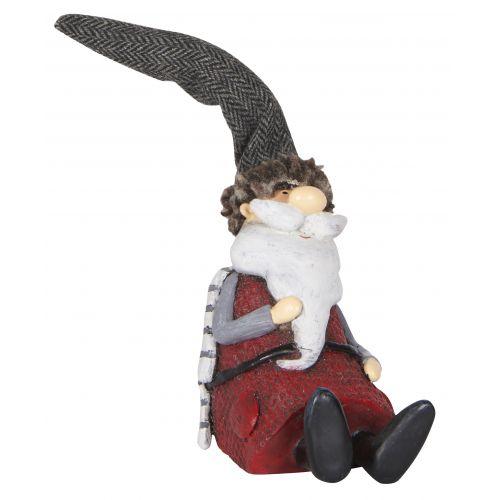 Vánoční figurka Santa Claus Sitting