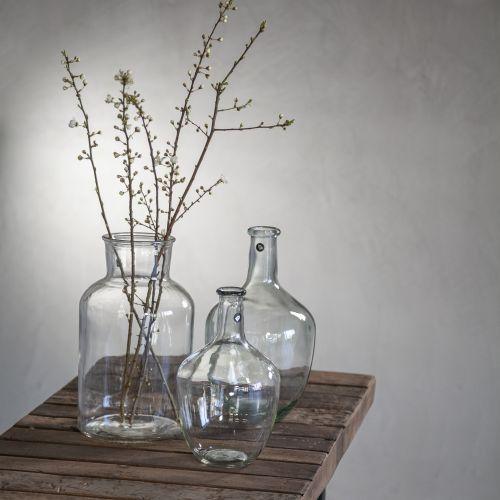 Skleněná váza Clear 30cm