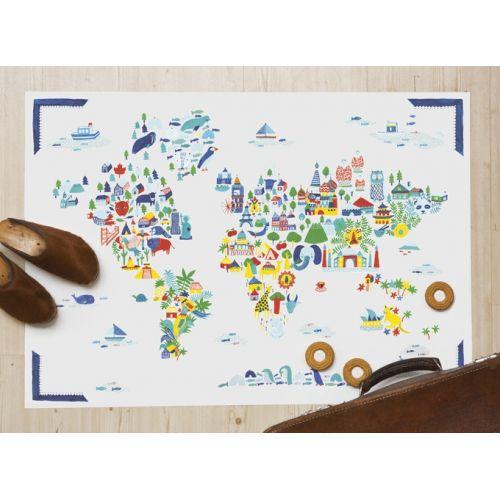 Plakát Fine Little World 50x70 cm