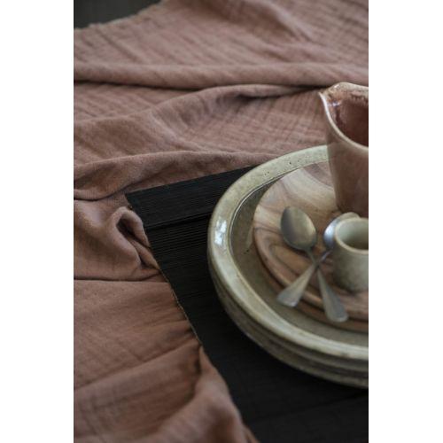 Bambusové prostírání Black 43 x 30 cm