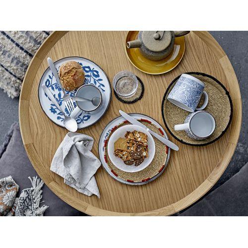 Keramický talířek Molly Blue Plate