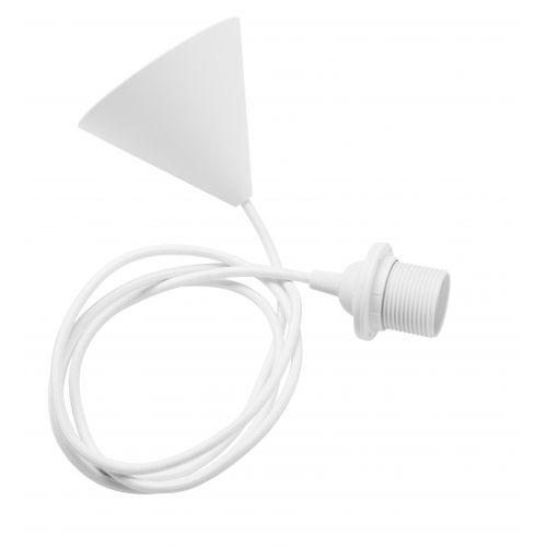 Závěsná lampa Aglio White small