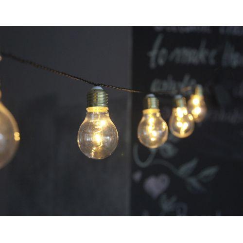 Světelný řetěz s 10 LED žárovkami Glow