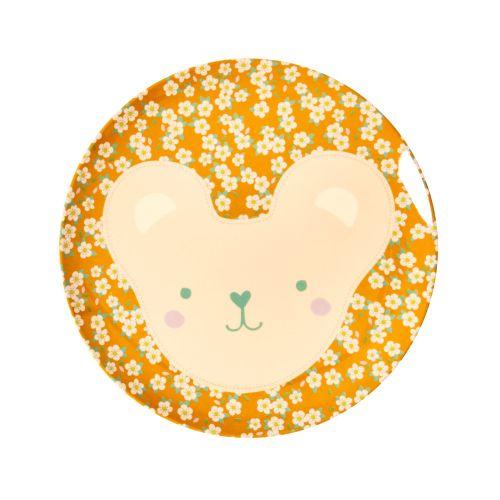 Dětský melaminový talířek Animal