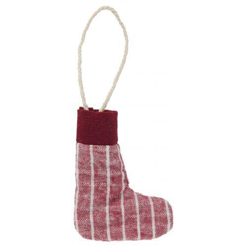 Vánoční textilní ozdoba Christmas Sock