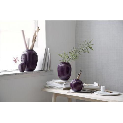 Keramická váza Hammershøi Plum 20 cm