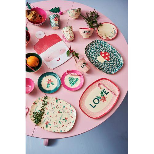 Melaminový talířek Christmas Ornaments 16 cm