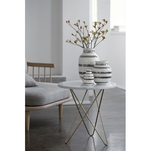 Váza Omaggio Silver 31 cm