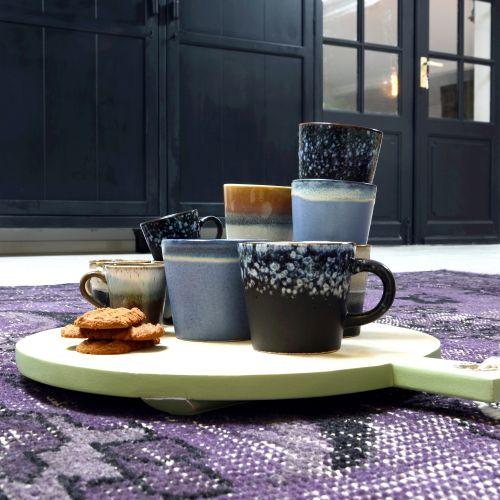 Keramický hrneček na cappuccino 70's