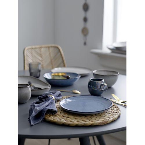 Hluboký keramický talíř Sandrine Blue