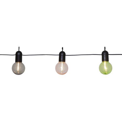 Venkovní světelný řetěz Fiesta Colors - 10 žárovek