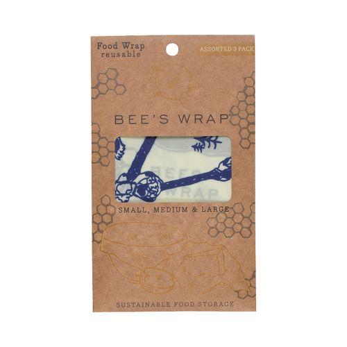 Ekologické potravinové ubrousky Bees & Bears - set 3 ks